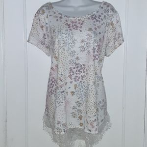 LC floral tunic